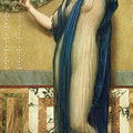 A Fair Reflection by John William Godward