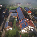 A Farm In Bavaria With Solar by Michael Melford