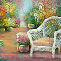 A Garden Chair by Sally Seago