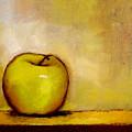 A Green Apple by Bob Kimball