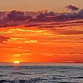 A Lake Sunset by Brian Mollenkopf