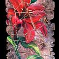 A Lily Fresco by Lena  Owens OLena Art