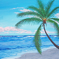 A Palm At Sunrise by Nancy Nuce