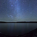 A Panoramic View Of The Milky Way by Luis Argerich