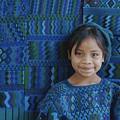 A Portrait Of A Guatemalan Girl by Raul Touzon