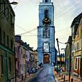 A Street In Cork. by John Cox