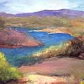Abiquiu Country by Jane E Chandler