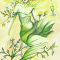 Absinthe-the Green Fairy by Nadine Dennis