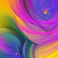 Abstract 060611b by David Lane