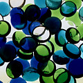 Abstract Blue Green II by Susan Stevenson