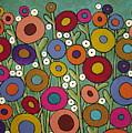 Abstract Garden by Karla Gerard