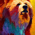 Abstract Grizz by Marion Rose