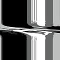 Abstract In Black And White by Lenore Senior