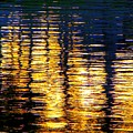 Abstract Reflection In Water 03 by Henry Murray