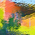 Abstract Reflection In Water 04 by Henry Murray