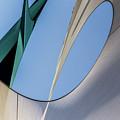 Abstract Sailcloth Ycc103 by Bob Orsillo
