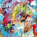 Abstract With Drips And Splashes by Michael Henderson