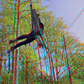 Aerial Artist - Use Red-cyan 3d Glasses by Brian Wallace