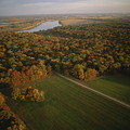 Aerial View Of Shiloh. The Tennessee by Sam Abell