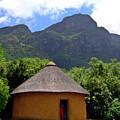 African Hut South Africa by Douglas Barnett