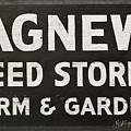 Agnew Seeds Roanoke Virginia by Teresa Mucha