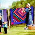 Airing The Quilts by Faye Ziegler