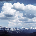 Alberta Mountain Panorama by Steve Somerville