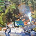 Algonquin Campsite by Paul Gauthier