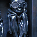 Alien Baby By Giger by Carl Purcell