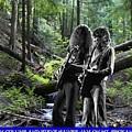 Allen And Steve On Mt. Spokane by Ben Upham