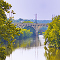 Along The Schuylkill River In Manayunk by Bill Cannon