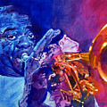 Ambassador Of Jazz - Louis Armstrong by David Lloyd Glover