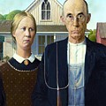 American Gothic by Pg Reproductions
