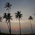 An Evening At The Beach-1 by Reshmi Shankar