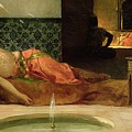 An Odalisque In A Harem by Benjamin Constant