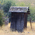 An Old Outhouse  by Jeff Swan