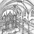 Angel Orensanz Sketch 3 by Adendorff Design