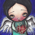 Angel With Heart by  Abril Andrade Griffith