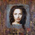 Angelina Jolie by Jeannette Ulrich