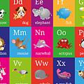 Animal Alphabet by Michael Tompsett