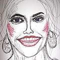 Anna Nicole Smith by Caroline Lifshey