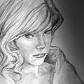Anne Francis by Bryan Bustard