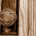 Antique Doorknob by Caroline Clark