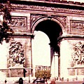 Arc De Triomphe 1955 by Will Borden