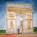 Arch De Triumph  by Leo Gordon