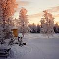 Arctic Homestead by Merja Waters