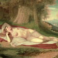 Ariadne Asleep On The Island Of Naxos by John Vanderlyn