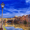 Arno River Florence by Clint Hudson