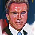 Arnold Schwarzenegger by Dean Gleisberg
