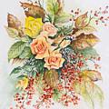 Arrangement In Yellow by Anne Rhodes